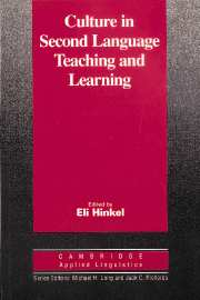 Hinkel, E. (1999). Culture in second language teaching and learning. Cambridge: Cambridge University Press.
